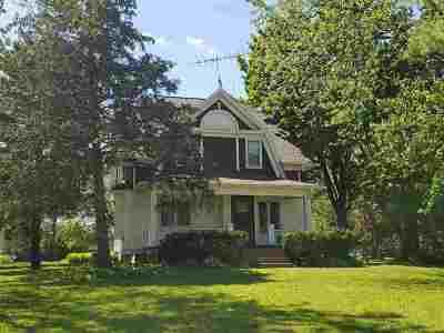 Oshkosh Single Family Home Active-No Offer: 2527 W Waukau