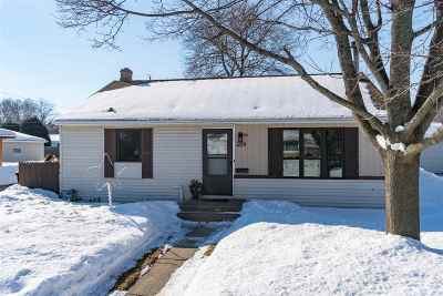 Appleton WI Single Family Home Active-No Offer: $150,000