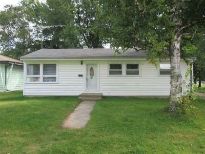 Menominee Single Family Home Active-No Offer: 4306 6th