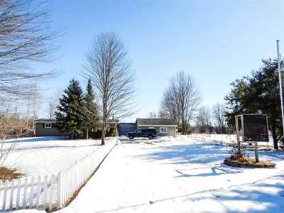 Marinette Single Family Home Active-No Offer: W1597 Cleveland
