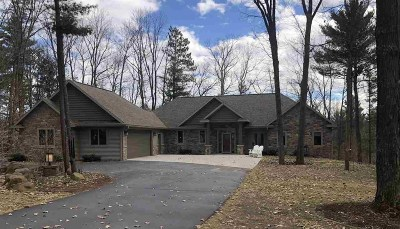 Shawano Single Family Home Active-No Offer: N6065 Opperman