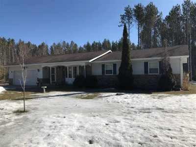 Shawano Single Family Home Active-Offer No Bump: N2398 Hwy K