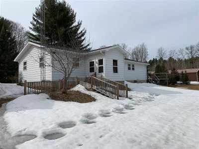 Crivitz Single Family Home Active-No Offer: N9479 Quarry