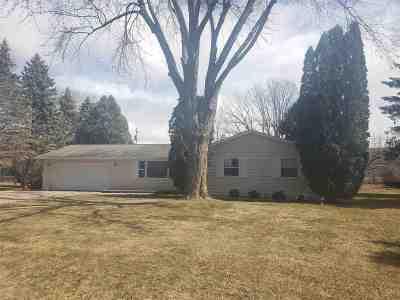 Oshkosh Single Family Home Active-Offer No Bump: 1100 Honey Creek