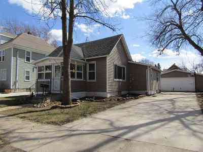 Menasha Single Family Home Active-Offer No Bump: 321 2nd