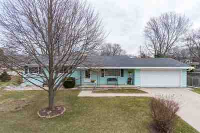 Neenah Single Family Home Active-Offer No Bump: 1262 Maple
