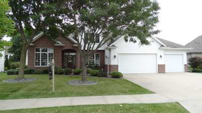Appleton Single Family Home Active-No Offer: 3107 E Gazebohill