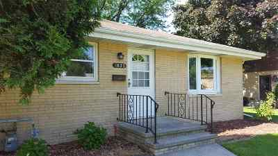 Appleton Multi Family Home Active-Offer No Bump-Show: 1823 Silvercrest