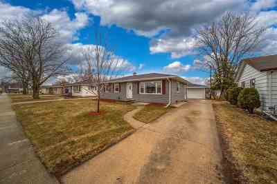 Neenah Single Family Home Active-Offer No Bump: 136 Andrew