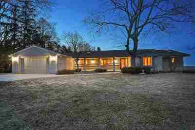 Green Bay Single Family Home Active-No Offer: 3079 Bay View