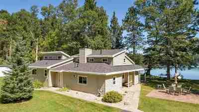 Oconto County Single Family Home Active-No Offer: 9171 Half Moon Lake