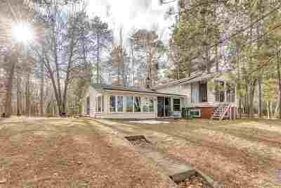 Oconto County Single Family Home Active-No Offer: 9197 Half Moon Lake