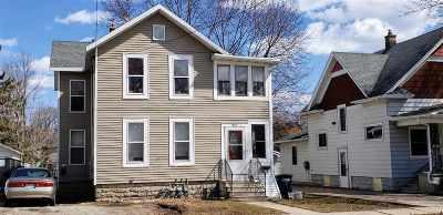 Oshkosh Multi Family Home Active-No Offer: 818 Bowen