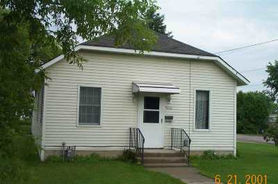 Menominee Single Family Home Active-No Offer: 3500 11th