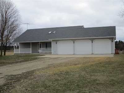 Shawano Single Family Home Active-Offer No Bump: W9328 Hwy A