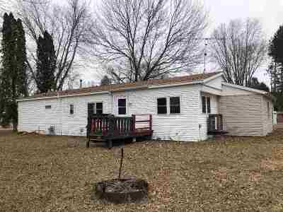 Shawano Single Family Home Active-No Offer: W5095 Resort