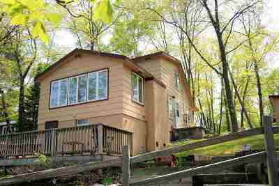 Oconto County Single Family Home Active-No Offer: 17400 Archibald Lake
