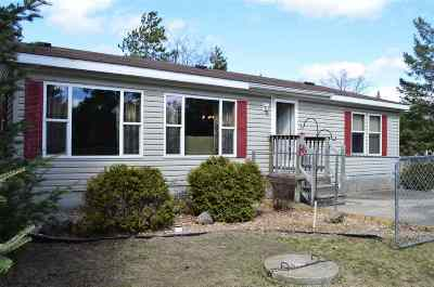 Shawano County Single Family Home Active-No Offer: W6541 Curt Black