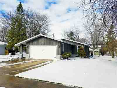 Neenah Single Family Home Active-No Offer: 1043 Melrose