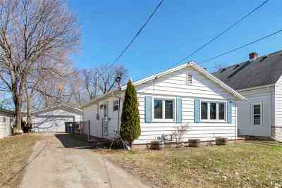 Menasha Single Family Home Active-No Offer: 54 Lawson