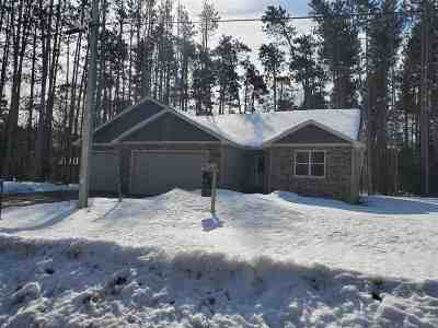 Waupaca Single Family Home Active-No Offer: E2581 Pine