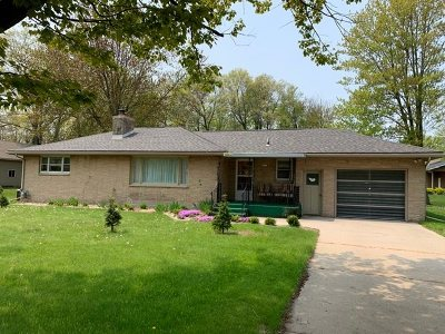 Menominee Single Family Home Active-No Offer: 4511 13th