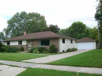 Appleton Single Family Home Active-No Offer: 1810 S Walden