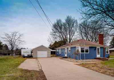 Kaukauna Single Family Home Active-Offer No Bump: N3938 Hwy 55