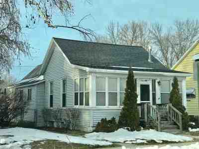 Marinette Single Family Home Active-Offer No Bump: 1226 Logan