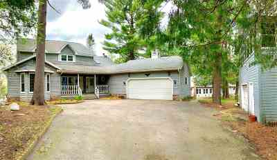Waupaca Single Family Home Active-No Offer: E856 Orlando