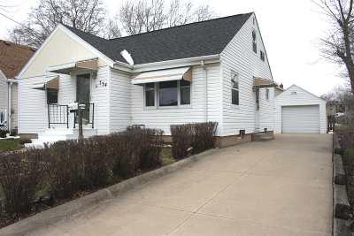 Menasha Single Family Home Active-No Offer: 734 Roosevelt