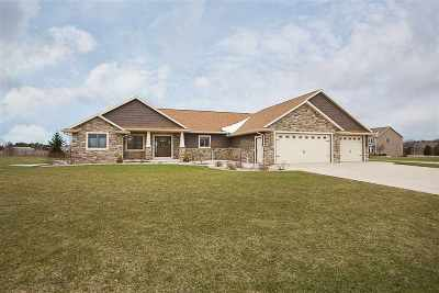 Appleton Single Family Home Active-Offer No Bump: W5034 Red Barn