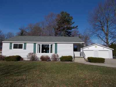 Menominee Single Family Home Active-No Offer: 4019 14th