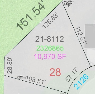 Green Bay Residential Lots & Land Active-No Offer: 2126 Emmalane