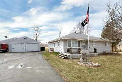 Appleton Single Family Home Active-Offer No Bump: W4671 Hwy O