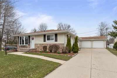 Appleton Single Family Home Active-No Offer: 800 S Clara
