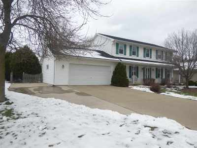 Appleton Single Family Home Active-Offer No Bump: 4724 W Grand Meadows