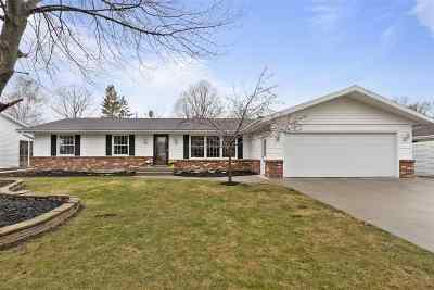 Appleton Single Family Home Active-No Offer: 1409 S Midpark