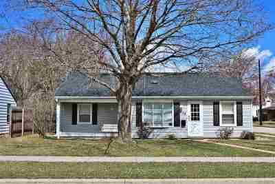 Oshkosh Single Family Home Active-No Offer: 436 W 19th