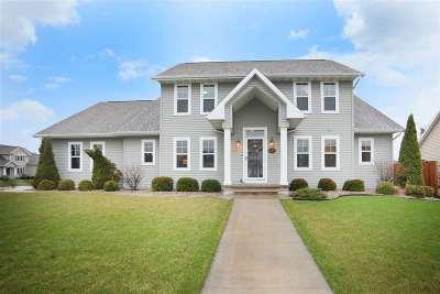 Appleton Single Family Home Active-No Offer: 4534 N Habitat