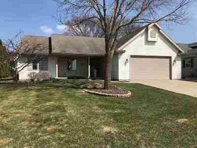 Appleton Single Family Home Active-No Offer: 3230 N Spruce