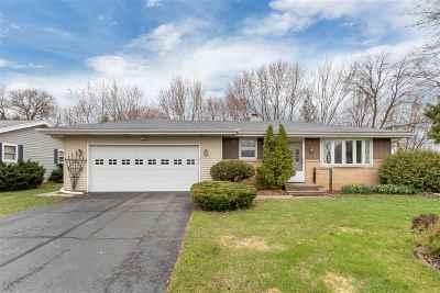 Appleton Single Family Home Active-No Offer: 14 Oneida