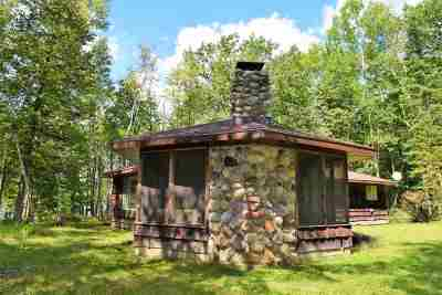 Marinette County Single Family Home Active-No Offer: N9441 Lake