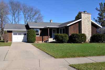 Neenah Single Family Home Active-Offer No Bump: 708 Chestnut