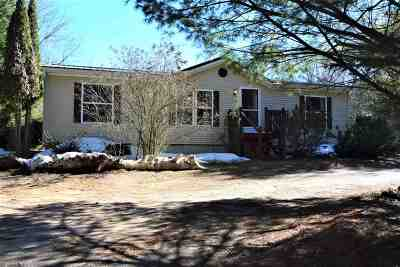 Shawano County Single Family Home Active-Offer No Bump: W11507 W Town Hall
