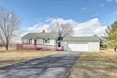 Oconto Falls Single Family Home Active-No Offer: 9470 Morgan Marsh