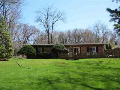 Oshkosh Single Family Home Active-No Offer: 5161 Island View