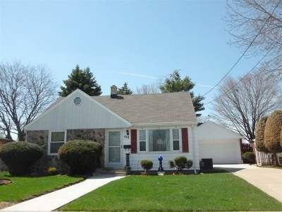 Menasha Single Family Home Active-Offer No Bump: 750 Pleasant