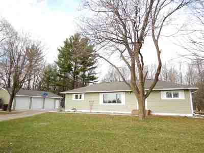 Oconto Falls Single Family Home Active-Offer No Bump: 8164 Hwy 22