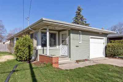 Oshkosh Single Family Home Active-Offer No Bump: 1651 Wisconsin